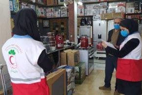 اجرای طرح ناظران سلامت در استان توسط هلال احمر گیلان