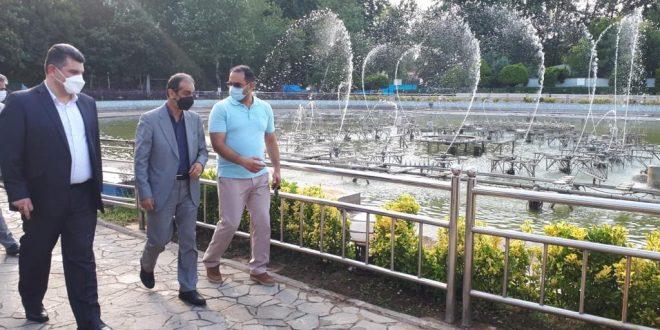 شهردار رشت خبر داد: راه اندازی فاز تکمیلی آب نمای موزیکال بوستان ملت در عید سعید غدیر