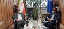 در دیدار رئیس سازمان صمت گیلان با نماینده آستانه اشرفیه: تجارت بادام زمینی باید جهانی شود/ کارگروه های آرد و نان درشهرستان های گیلان فعال شود